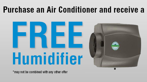 Air conditioner promo offer