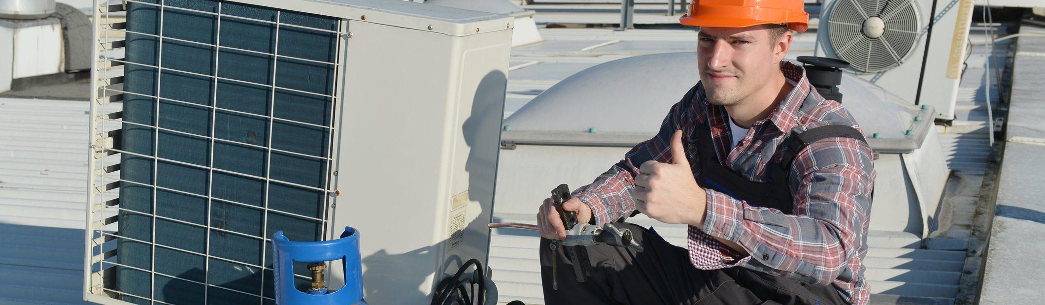 air-conditioning-repair-young-repairman-roof-fixing-system-model-actual-repairman-electrician-40719912