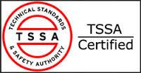 TSSA certified logo