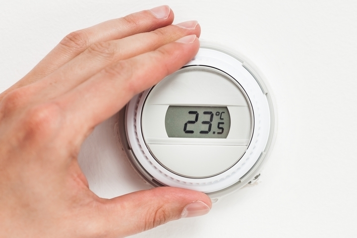 Checking the thermostat