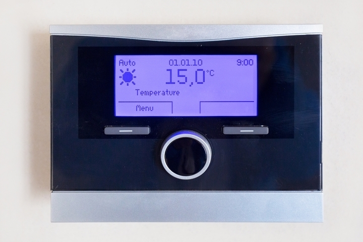 The thermostat location may lead to uneven temperatures in houses.