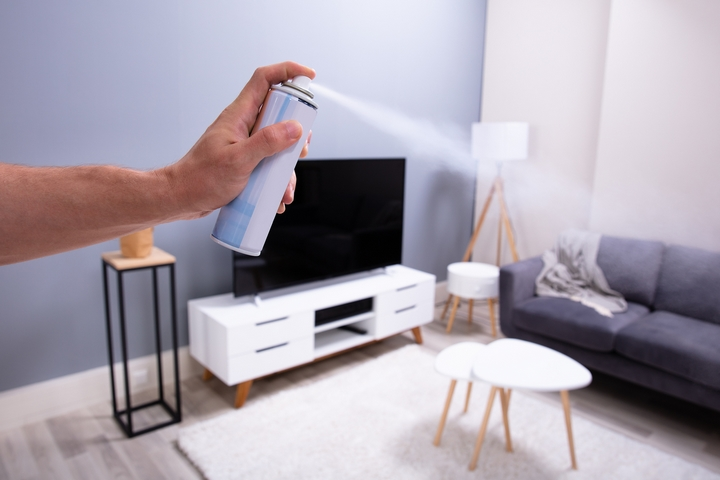 Air fresheners are one of the common causes of poor indoor air quality.