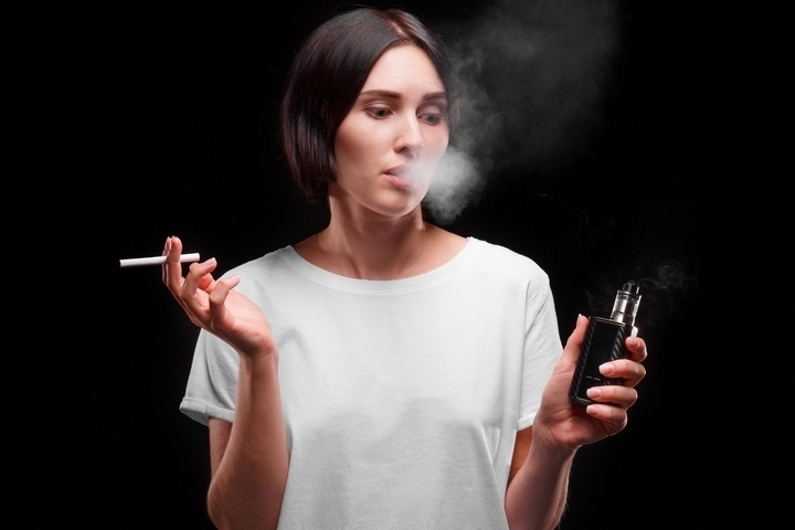 Cigarette smoke is one of the common causes of poor indoor air quality.