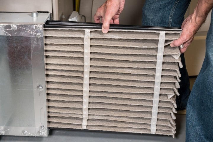 Your furnace doesn't have sufficient airflow.
