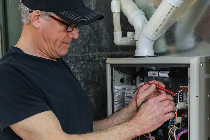 Your furnace isn't being properly maintained.